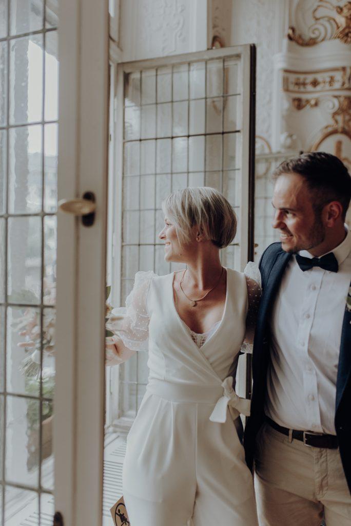 Hochzeitsfotografie in Aachen im Weissen Saal Standesamt Aachen