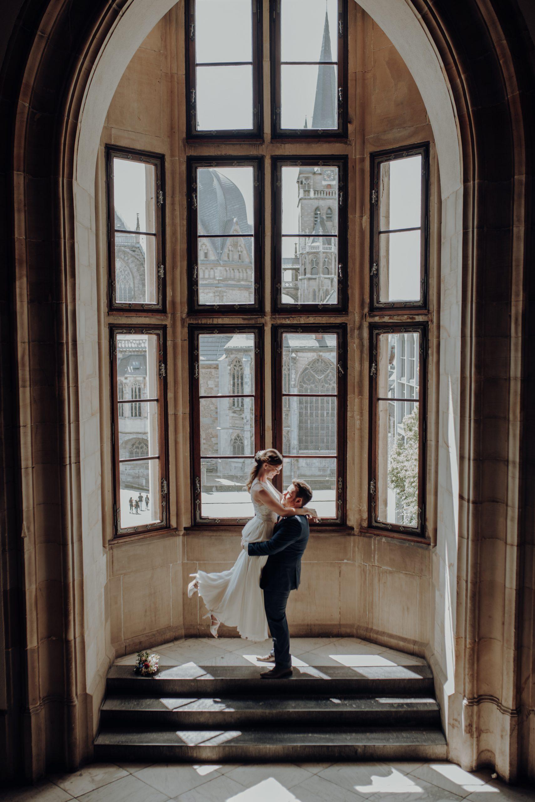 Das Fenster im Rathaus